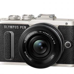 Olympus Pen E Pl8 Järjestelmäkamera Musta + Pannukakkuobjektiivi 14 42mm Ez Musta