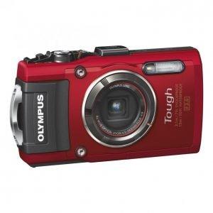 Olympus Stylus Tough Tg-4 Kamera Punainen