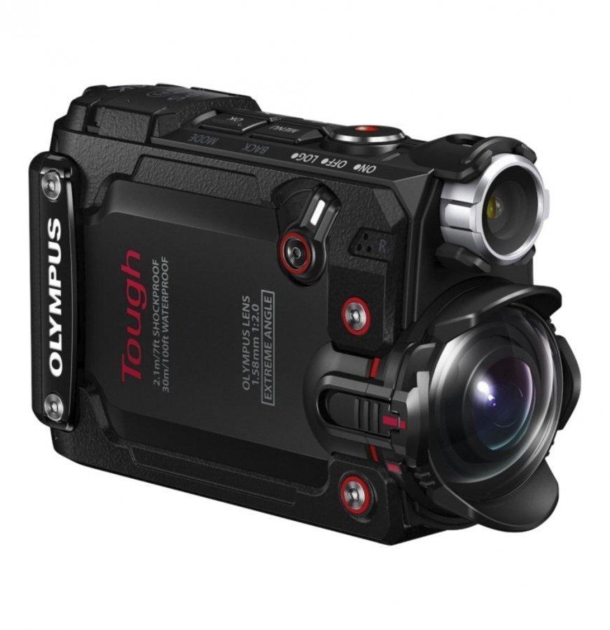 Olympus Tough Tg-Tracker Iskunkestävä 4k Videokamera Black