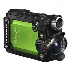 Olympus Tough Tg-Tracker Iskunkestävä 4k Videokamera Green