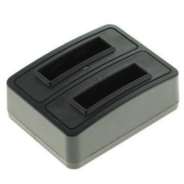 Panasonic CGA-S007 DMW-BCD10 Kaksoislaturi Musta