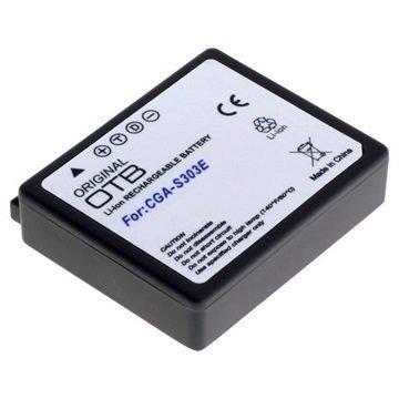 Panasonic CGA-S303 Videokamera Akku 550mAh