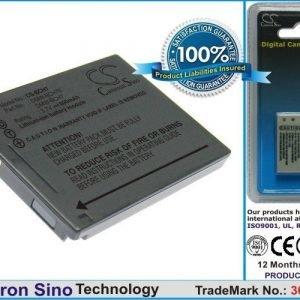 Panasonic DMW-BCH7 DMW-BCH7E akku 690 mAh