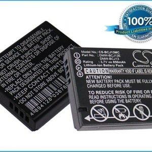 Panasonic DMW-BCJ13 DMW-BCJ13E DMW-BCJ13PP akku 850 mAh