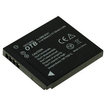 Panasonic DMW-BCK7 Akku Lumix DMC-FT25 DMC-SZ5 700 mAh