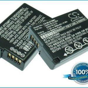 Panasonic DMW-BLD10 DMW-BLD10E DMW-BLD10PP akku 850 mAh