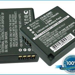 Panasonic DMW-BLE9 DMW-BLE9PP akku 750 mAh