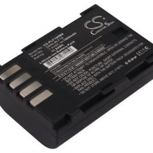 Panasonic DMW-BLF19 DMW-BLF19E akku 1600 mAh
