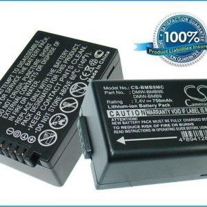 Panasonic DMW-BMB9 DMW-BMB9E akku 750 mAh