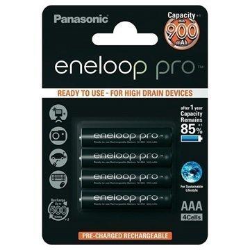Panasonic Eneloop Pro Ladattavat AAA Paristot 900mAh