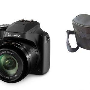 Panasonic Lumix Fz82 Digikamera + Kameralaukku