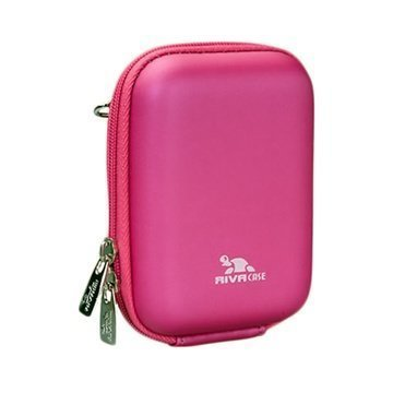 Rivacase 7023 Digital Camera Case Crimson Vaaleanpunainen