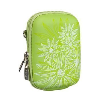 Rivacase 7023 Digital Camera Case Flowers Vihreä