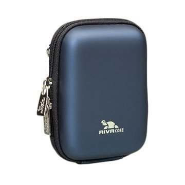 Rivacase 7023 Digital Camera Case Tummansininen