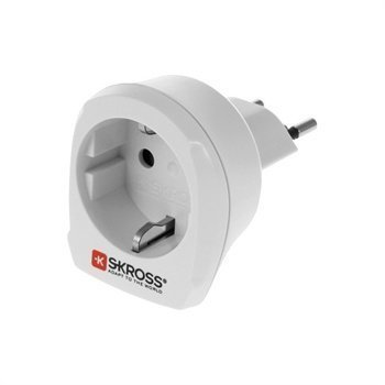 SKROSS Country Adapter EU to CH White