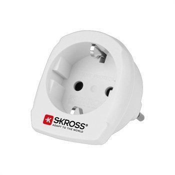 SKROSS Country Adapter EU to Italy White