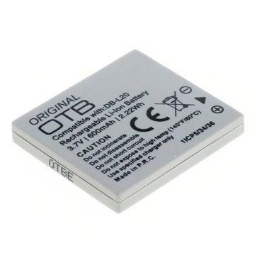 Sanyo DB-L20 Videokamera Akku 600mAh