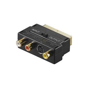 Scart / 3 RCA Adapter