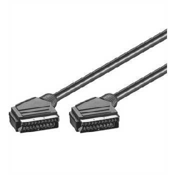 Scart / Scart Cable Black