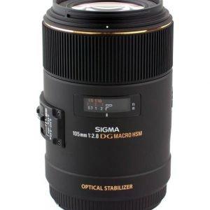Sigma 105 Mm F/2.8 Ex Dg Os Hsm Macro Objektiivi Nikon