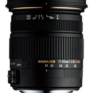 Sigma 17 50 Mm F2.8 Ex Dc Os Hsm Standardiobjektiivi Nikon