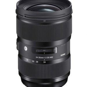 Sigma 24 35 Mm F/2 A Dg Hsm Objektiivi Canon