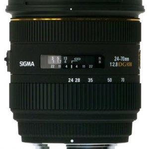 Sigma 24 70 Mm F2.8 Ex Dg Hsm Objektiivi Canon