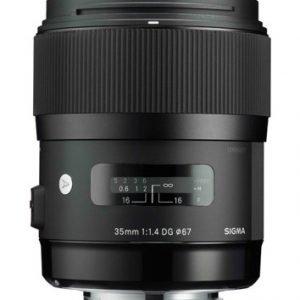 Sigma 35 Mm F/1.4 A Dg Hsm Objektiivi Canon