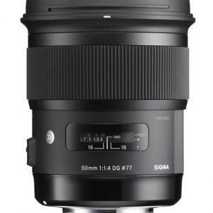 Sigma 50 Mm F/1.4 A Dg Hsm Objektiivi Canon