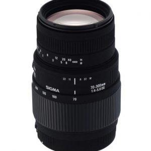 Sigma 70 300 Mm F/4 5.6 Dg Macro Objektiivi Canon
