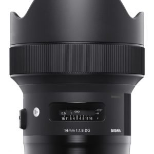 Sigma Eos 14/1.8 A Dg Hsm Objektiivi Canon