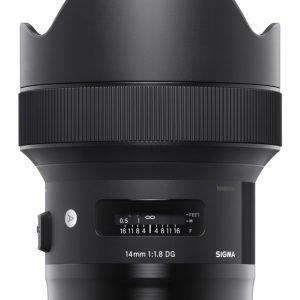 Sigma Nad 14/1.8 A Dg Hsm Objektiivi Nikon