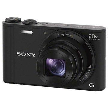 Sony Cyber-shot DSC-WX300 Musta