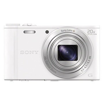 Sony Cyber-shot DSC-WX350 Digitaalikamera Valkoinen