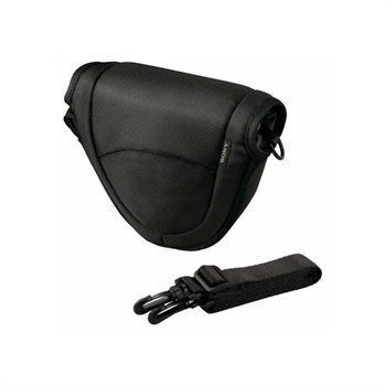 Sony LCS-EMC/B Soft Carrying Case NEX-3 NEX-5 Black