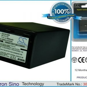 Sony NP-FH120 yhteensopiva akku 4400 mAh