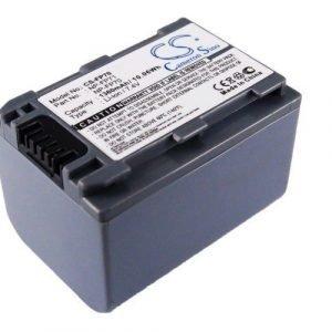 Sony NP-FP70 NP-FP60 NP-FP71 yhteensopiva akku 1360 mAh