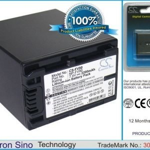 Sony NP-FV90 yhteensopiva akku 2200 mAh