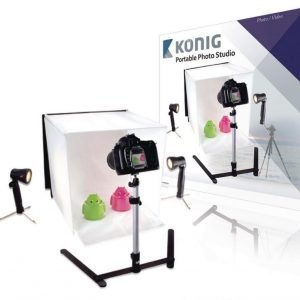 Taittuva mini photo studio 40x40 cm