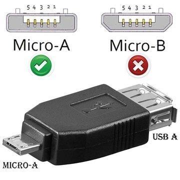 USB / microUSB Adapteri