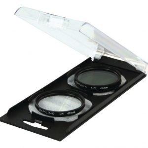 UV & CPL Polarizer Twin Pack 49mm