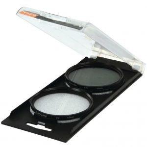 UV & CPL Polarizer Twin Pack 62mm