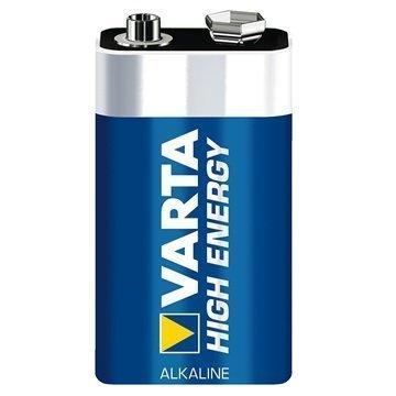 Varta 4922 High Energy E-Block 9V-Block Battery