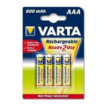 Varta 56703 R2U Longlife AAA Battery