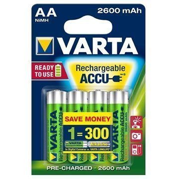 Varta 5716 Power Accu AA Patteri