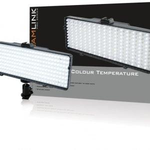 Video LED lamppu 320 LEDiä
