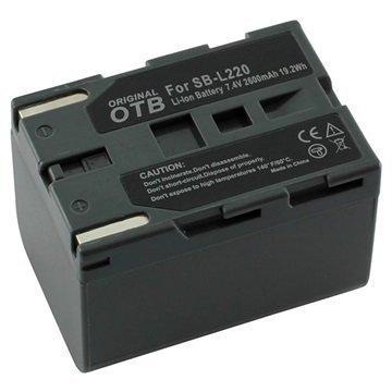 Videokamera Akku Samsung SB-L70 SB-L110 SB-L220 2600mAh